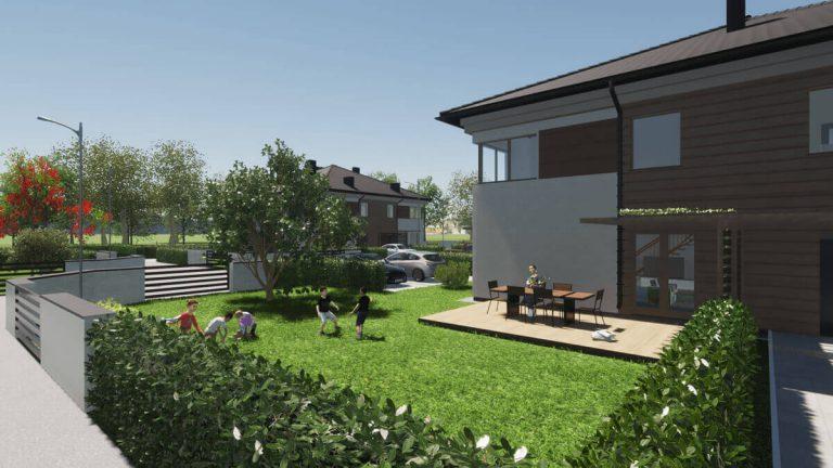 dom z ogrodem na sprzedaż
